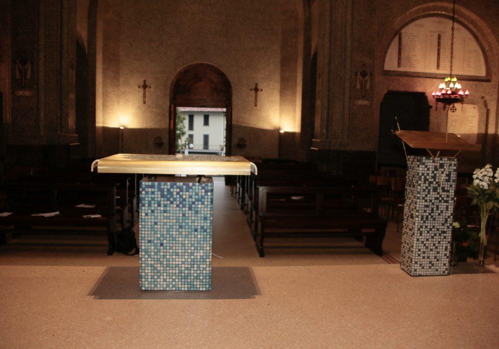 Nuovo arredo liturgico